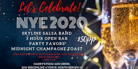New Year's Eve Party at Harry's Food and Drink tickets