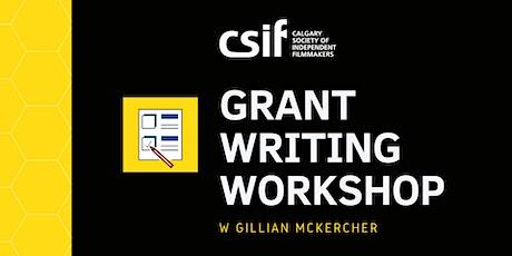 Grant Writing Workshop w/ Gillian McKercher tickets