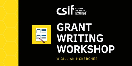 Grant Writing Workshop w/ Gillian McKercher