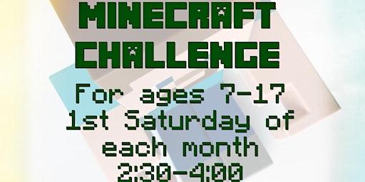 Minecraft Challenge - Winter/Spring 2020