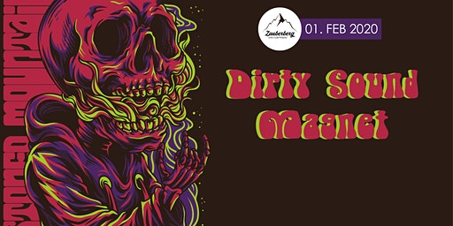 Dirty Sound Magnet + The Strange Seeds | Stoned Mountain
