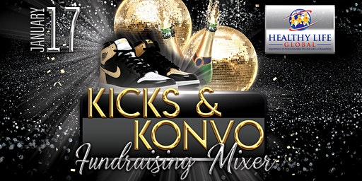 Kicks and Konvo Fundraiser Mixer