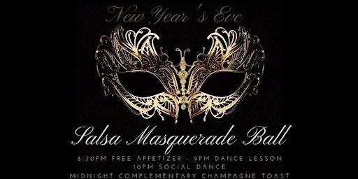 3rd New Year's Eve Salsa Masquerade Ball