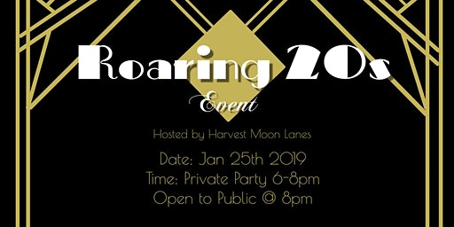 Roaring 20s Murder Mystery Private Party