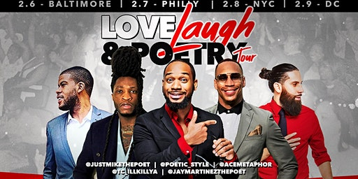 The Love , Laugh & Poetry Tour: Philly
