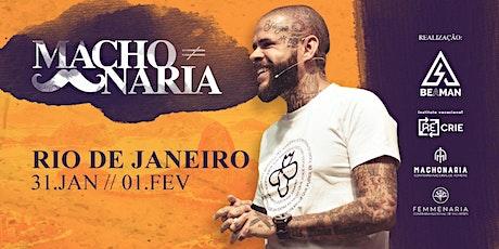 Machonaria Rio de Janeiro ingressos
