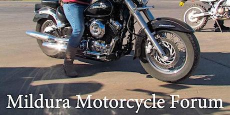 Mildura Motorcycle Forum tickets