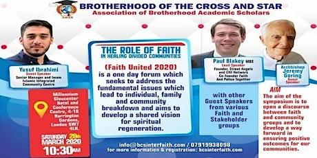 FAITH UNITED 2020 tickets