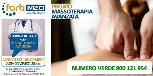 MASSOTERAPIA AVANZATA - VISITA COMPLETA