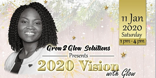 2020 Vision Board Glow Party