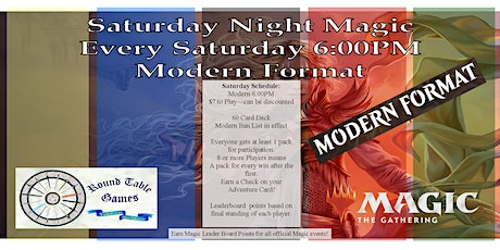 Saturday Night Magic Modern tickets