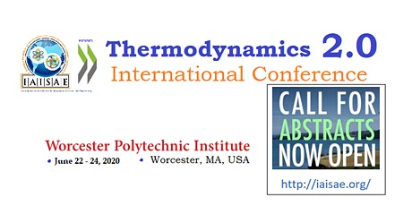 Thermodynamics 2.0 | International Conference tickets