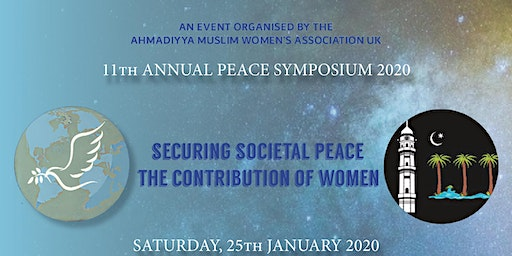 Lajna Imaillah UK's 11th Annual Peace Symposium