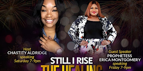 """""""Still I Rise"""" The Healing Conference 2020 tickets"""