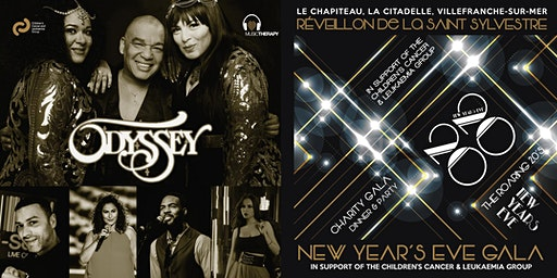 New Year's Eve Charity Gala Dinner & Show Feat. Odyssey