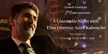 A Cinematic Night with Paris Film Director Azize Kabouche tickets