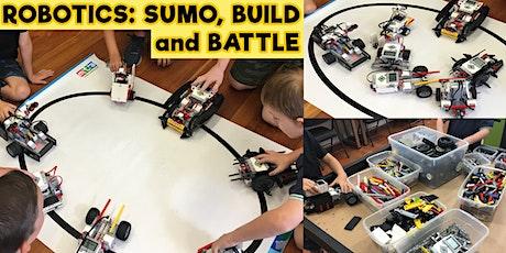 Robotics - Sumo Build and Battle - Monday 23rd December tickets