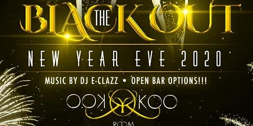 "New Year's Eve Edition The ""Blackout""  @ Koo-Koo Room Tuesdays."