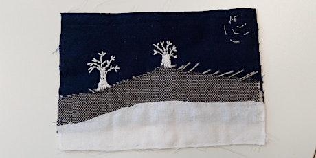 Hand Embroidered Festive Landscapes Textile Workshop tickets