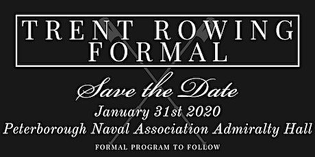 Trent Rowing Formal  tickets