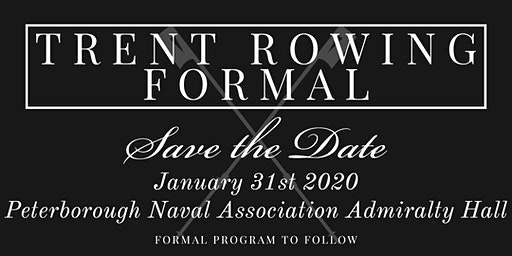Trent Rowing Formal