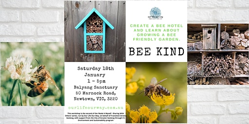 Bee Kind - Bee Hotel  & Nectary