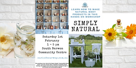 Natural Body Care tickets