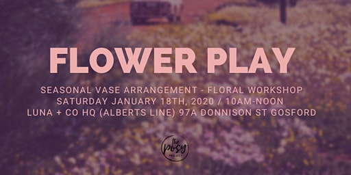 Flower Workshop: Seasonal Vase Arrangement