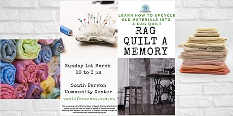 Upcycled Rag Quilt tickets