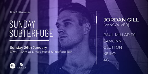 Tune! Presents: Sunday Subterfuge Australia Day Party