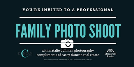 FREE Family Photo Session - with Natalie Dollman Photography tickets