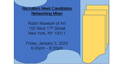 Recruiters Meet Candidates Networking Mixer tickets
