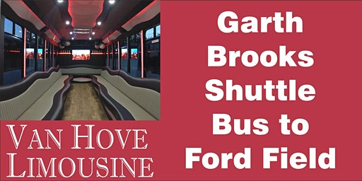Garth Brooks Shuttle Bus to Ford Field from Hamlin Pub 22 Mile & Hayes