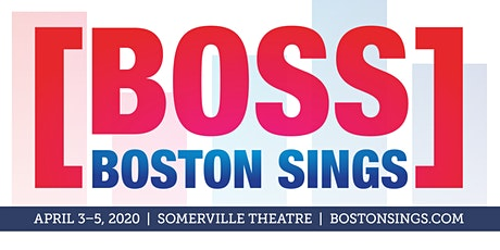 Boston Sings [BOSS] A Cappella Festival 2020 tickets