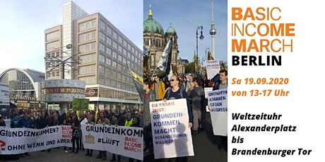 2. Basic Income March Berlin tickets