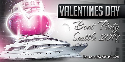 Valentines Day Boat Party Seattle 2020