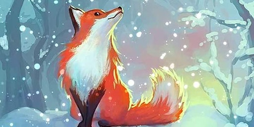 Family Art Night: Frozen Fox