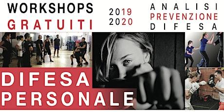 Workshops Difesa Personale biglietti
