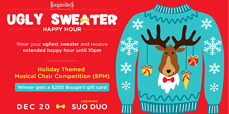 Bougie's Ugly Sweater Happy Hour tickets