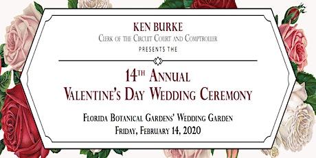 Clerk of Circuit Court 14th Annual Valentine's Day Wedding entradas