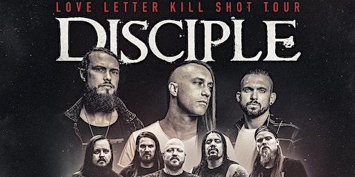 Love Letter Kill Shot Tour : Disciple/ War Of Ages / Paradise Now
