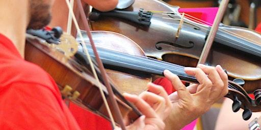 6. Orchester-Workshop für Streicher, Schlagwerker und Pianisten