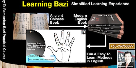 Easy To Learn Bazi Basic Practical Course | 21st & 22nd Dec 2019 |East Gate tickets