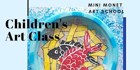 MINI MONET: Fish 'n' Chips Printmaking tickets
