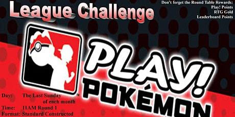 Pokemon League Challenge 2020 tickets