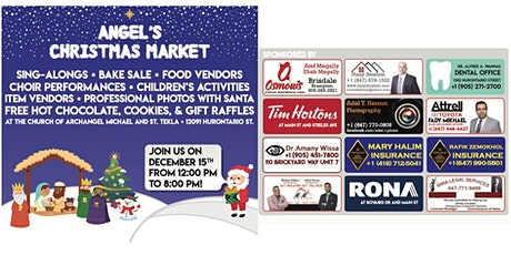 Angel's Christmas Market tickets