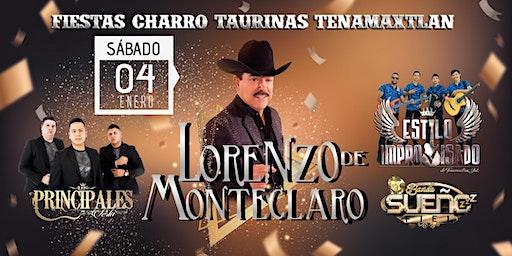 Gran Baile Lorenzo de Monteclaro Fiestas Tenamaxtlan 2019- 2020