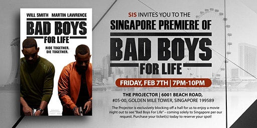 Bad Boys For Life Movie Premier