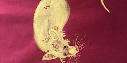 Lunar New Year Golden Rat Art Bazaar Opening night with Fun games