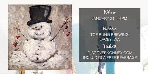 Sold Out! Paint Night Party at Top Rung Brewing